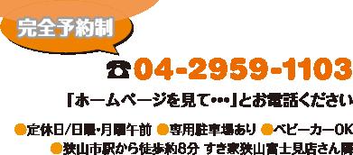 電話:04-2959-1103